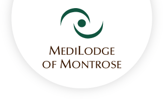 Medilodge of montrose web logo